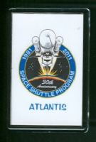 30 Years of the Space Shuttle Program 1981-2011 Atlantis Fridge Magnet